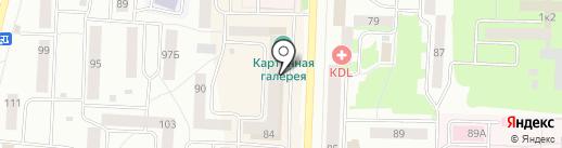 Банк Уралсиб, ПАО на карте Стерлитамака