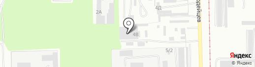 Салават-Стиль на карте Салавата