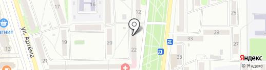 АвтоРешение на карте Стерлитамака