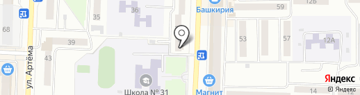 МЕБЕЛЬЕРЪ на карте Стерлитамака