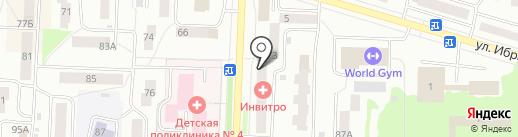 Башипотека, КПК на карте Стерлитамака