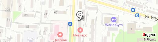 Ломбард БанкиръПлюс на карте Стерлитамака