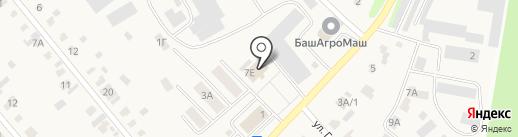 Стерлитамакский районный дворец культуры на карте Загородного