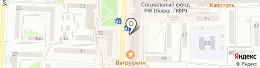 Банкомат, МТС-банк, ПАО на карте Стерлитамака