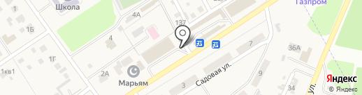 Интер на карте Новой Отрадовки