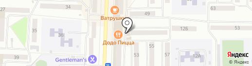Магазин овощей и фруктов на карте Стерлитамака