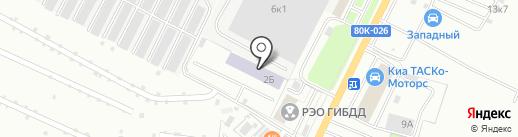 Амира на карте Стерлитамака