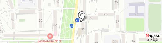 Мастер Копий на карте Стерлитамака