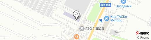БРУКК, АНО на карте Стерлитамака