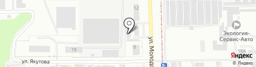 Башкирское специализированное ремонтно-строительное управление противопожарных работ на карте Салавата