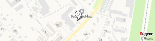 Стерлитамакский Агротехсервис на карте Загородного