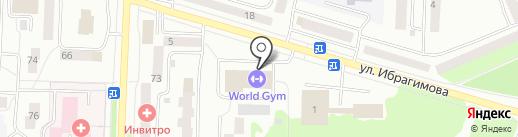 Актив на карте Стерлитамака