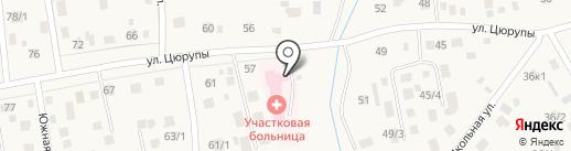 Скорая медицинская помощь на карте Булгаково