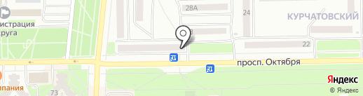 Ателье на карте Стерлитамака