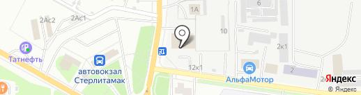 Автосеть.рф на карте Стерлитамака