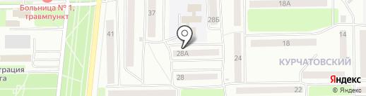 Национальный исследовательский университет на карте Стерлитамака