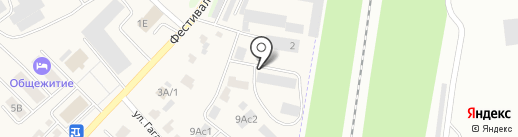 Интер на карте Загородного