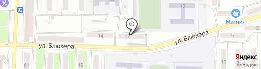 Расчетно-сервисный центр №2 на карте Стерлитамака