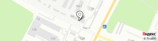Пегас на карте Стерлитамака