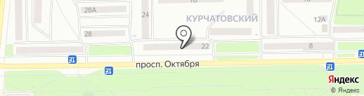 Стоматологическая поликлиника г. Стерлитамак на карте Стерлитамака