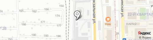 Автоцентр на карте Салавата