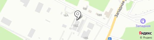 Строй-Сити на карте Стерлитамака