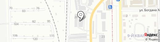 Астор на карте Салавата