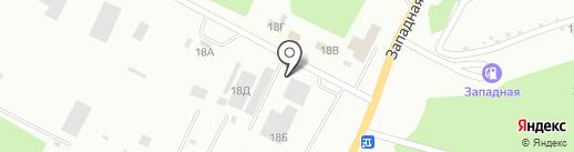 Башхимтранс, ЗАО на карте Стерлитамака