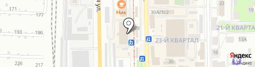 Автовояж на карте Салавата