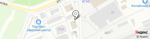 ТГС на карте Стерлитамака