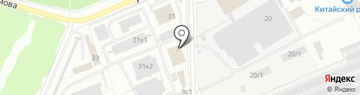 Комфорт-Сервис на карте Стерлитамака