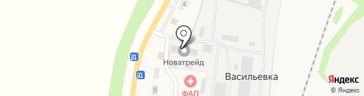 НоваТрейд на карте Васильевки