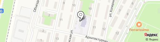 Оранж Спутник на карте Чесноковки