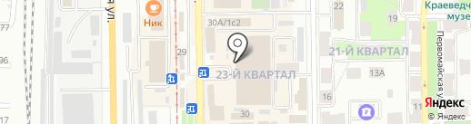 БашАльфаСтрой на карте Салавата