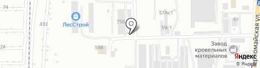 АМТ-Антикор на карте Салавата