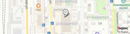 Магазин детской одежды на карте Салавата