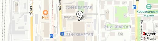 Звенящие кедры на карте Салавата