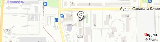 Ремонтная мастерская на карте Салавата