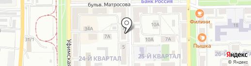 Республиканский центр социальной поддержки населения Республики Башкортостан на карте Салавата
