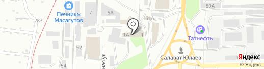 Хамелеон на карте Салавата