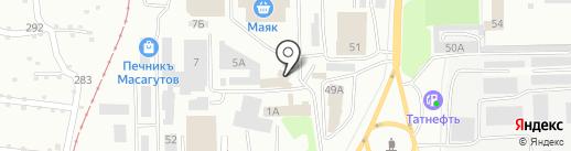 Шайтаночка на карте Салавата