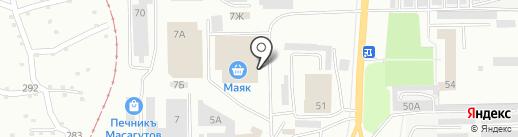 Стройландия на карте Салавата