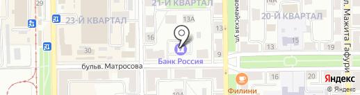 Банкомат, БАНК РОССИЙСКИЙ КРЕДИТ на карте Салавата