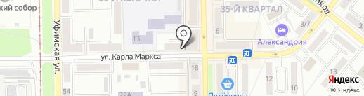 Фобос на карте Салавата