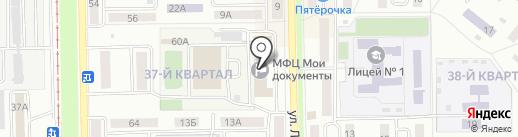 Федеральная кадастровая палата Росреестра по Республике Башкортостан на карте Салавата