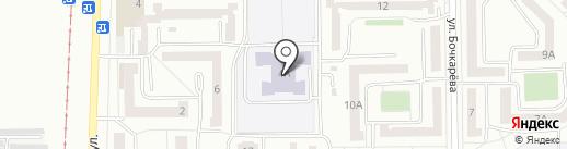 Башкирская гимназия №25 на карте Салавата