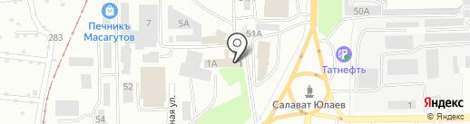 ИСК Регионстрой на карте Салавата