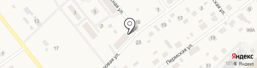 Жилой комплекс на Кедровой на карте Култаево
