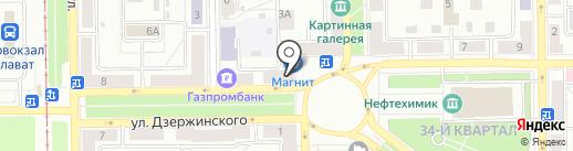Связь сервис на карте Салавата