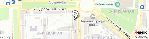 Единая Россия на карте Салавата